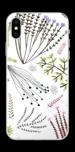 春の草木 スキンシール IPhone X