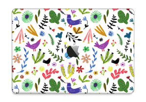 "Birds & leaves  Skin MacBook Pro 13"" 2016-"