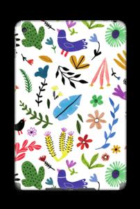 Fugler blant blomster & blader Skin IPad Mini 4