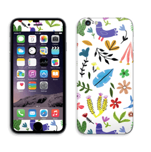Fugler blant blomster & blader Skin IPhone 6/6s