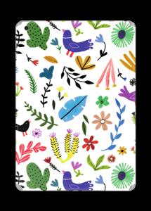 Fugler blant blomster & blader Skin IPad Air