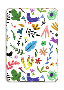 Fugler blant blomster & blader Skin IPad Air 2