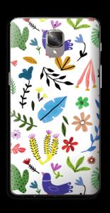 Fugler blant blomster & blader Skin OnePlus 3