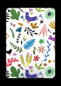 Fugler blant blomster & blader Skin IPad Pro 10.5