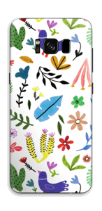 Birds & leaves  Skin Galaxy S8
