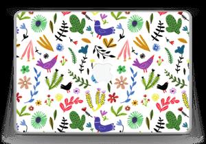 """Fugler blant blomster & blader Skin MacBook Pro 13"""" -2015"""