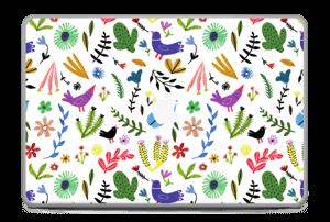"Birds & leaves Skin MacBook Pro 17"" -2015"