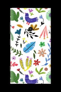 Fugler blant blomster & blader Skin Nokia Lumia 920