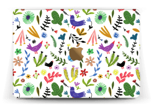 Birds & leaves Skin MacBook 12""
