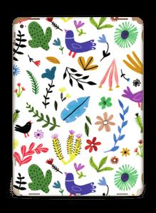 Birds & leaves Skin IPad Pro 12.9