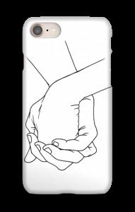 Kädet kuoret IPhone 8