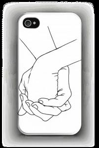 Kädet kuoret IPhone 4/4s