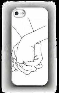 Kädet kuoret IPhone 5/5S