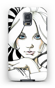 60-tallet ringte deksel Galaxy S5