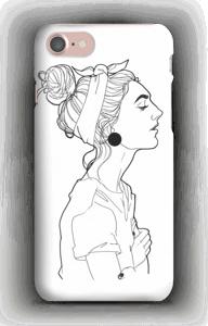 Kvinne deksel IPhone 7