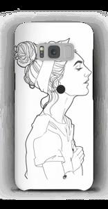 A GIRL  case Galaxy S8