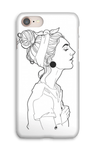 A GIRL  case IPhone 8