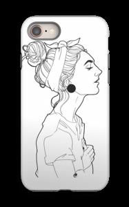 A GIRL  case IPhone 8 tough