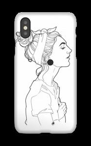 Kvinne deksel IPhone X