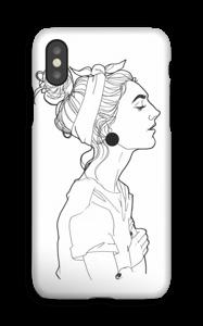 Kvinne deksel IPhone XS