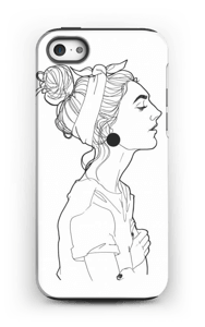 Kvinne deksel IPhone 5/5s tough