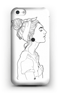 A GIRL  case IPhone 5c