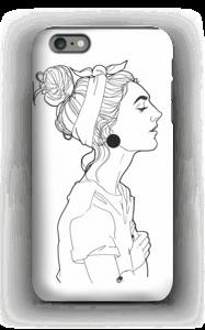 A GIRL  case IPhone 6 Plus tough