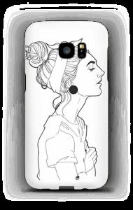 A GIRL  case Galaxy S7 Edge