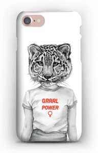 Grrrl Power deksel IPhone 7