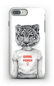 Grrrl Power case IPhone 7 Plus tough