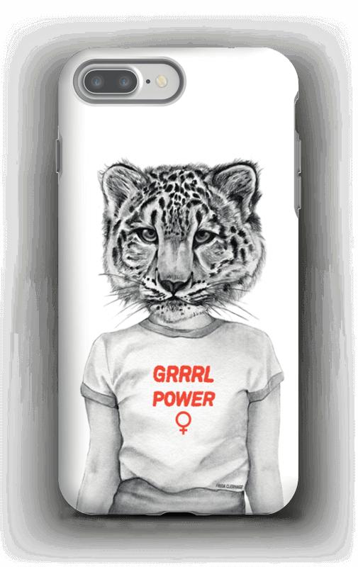 Grrrl Power deksel IPhone 7 Plus tough