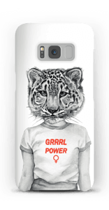 Grrrl Power cover Galaxy S8