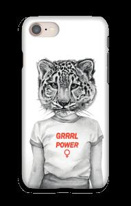 Grrrl Power cover IPhone 8