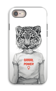Grrrl Power deksel IPhone 8 tough