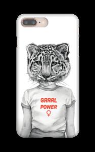 Grrrl Power Coque  IPhone 8 Plus