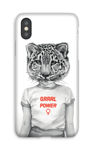 Grrrl Power case IPhone X