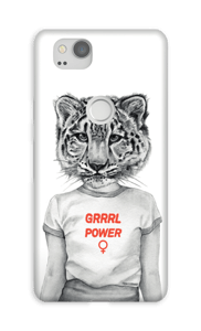 Grrrl Power deksel Pixel 2