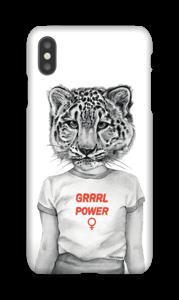 Grrrl Power deksel IPhone XS Max