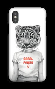 Grrrl Power deksel IPhone XS