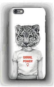 Grrrl Power deksel IPhone 6 Plus tough