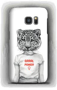 Grrrl Power deksel Galaxy S7