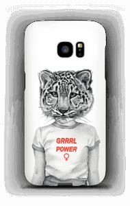 Grrrl Power case Galaxy S7 Edge