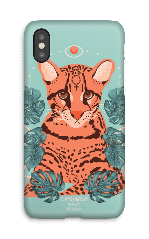 Catriarchy case IPhone X