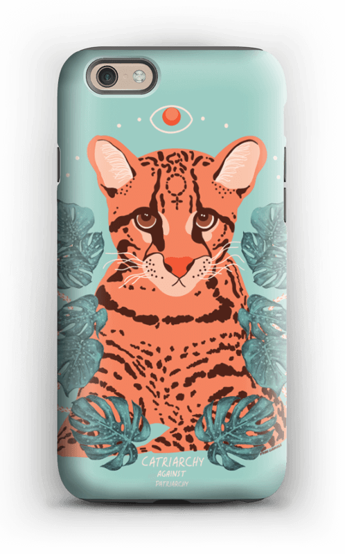 Catriarchy case IPhone 6s tough
