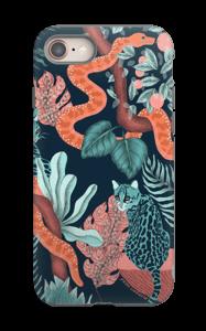 Jungle Cats case IPhone 8 tough