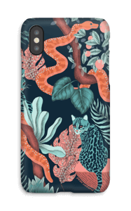 Jungle Cats case IPhone X