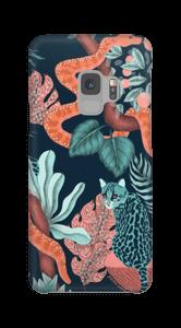 Jungelkatter deksel Galaxy S9