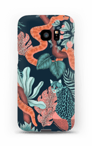 Jungle Cats case Galaxy S7 Edge