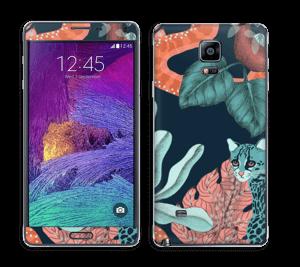Jungle Cats Skin Galaxy Note 4
