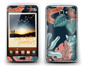 Jungle Cats Skin Galaxy Note